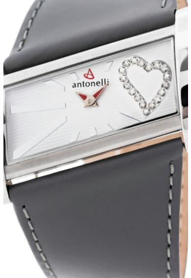 Antonelli Rozsdamentes acél karóra 18 gyémánttal díszítve női