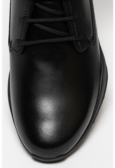 Geox Allenio bőr sneaker műbőr szegéllyel férfi
