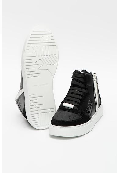 Emporio Armani Sneaker nyersbőr betétekkel férfi