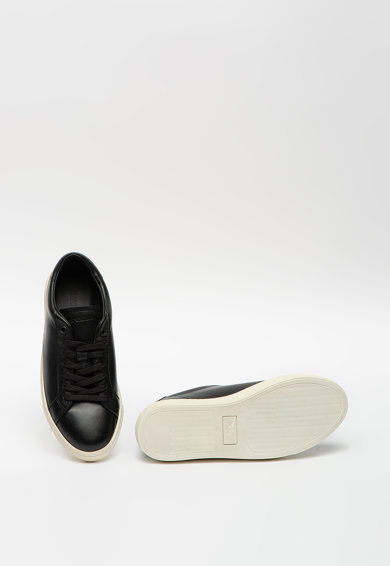 Emporio Armani Bőr sneaker bőr talpbetétekkel női