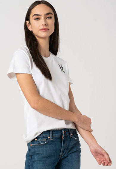 7 for all mankind Tricou cu imprimeu logo Femei