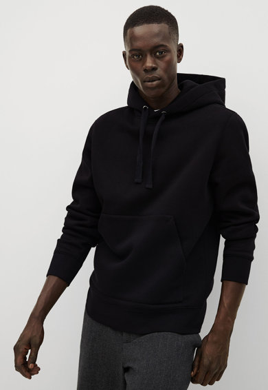 Mango Bono kapucnis pulóver kenguruzsebbel férfi
