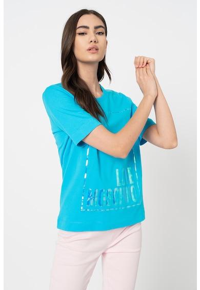 Love Moschino Póló színjátszós logómintával női