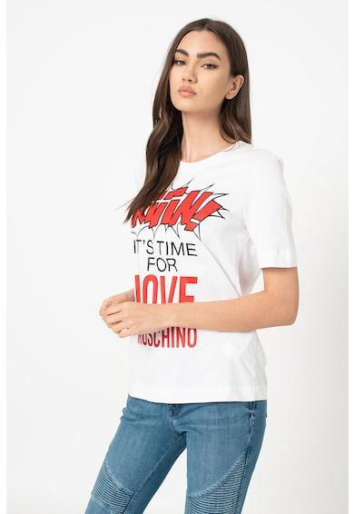 Love Moschino Mintás póló R női