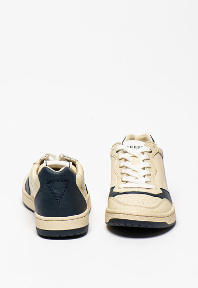 Guess Bőr sneaker műbőr szegéllyel férfi