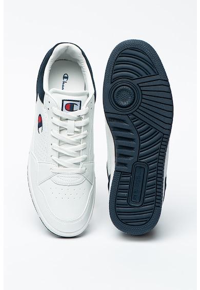 Champion Cleveland műbőr sneaker nyersbőr szegélyekkel férfi