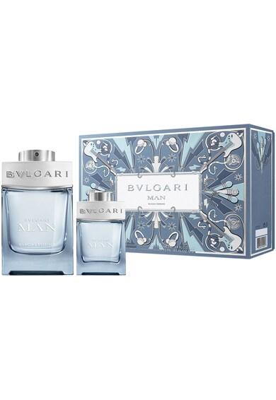 BVLGARI Set  Man Glacial Essence, Barbati: Apa de Parfum, 100 ml + Apa de Parfum, 15 ml Barbati