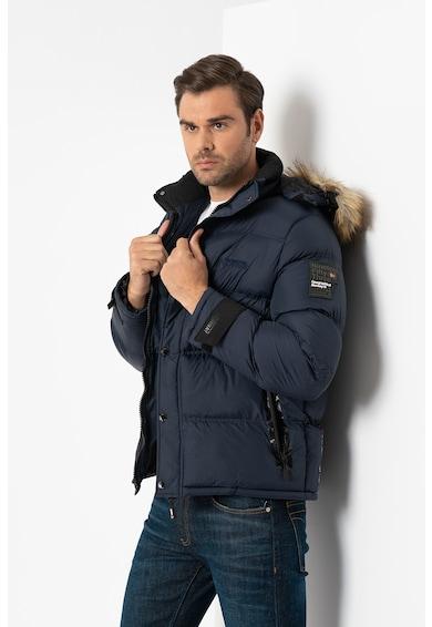 Geographical Norway Bonap télikabát levehető kapucnival férfi