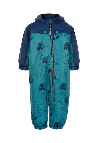 Color Kids Állatmintás vízálló overall levehető kapucnival Lány