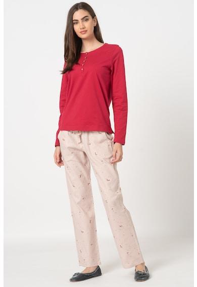 Triumph Character pizsama kis rókás mintával női