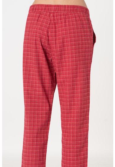 Triumph Pantaloni de pijama din flanel cu talie elastica Femei