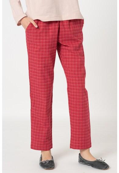 Triumph Flanel pizsamanadrág rugalmas derékrésszel női