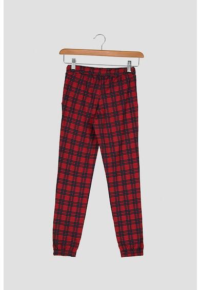 Jack&Jones Kockás pizsama Fiú