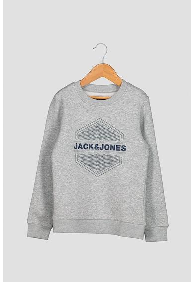 Jack&Jones Logómintás pulóver a Fiú
