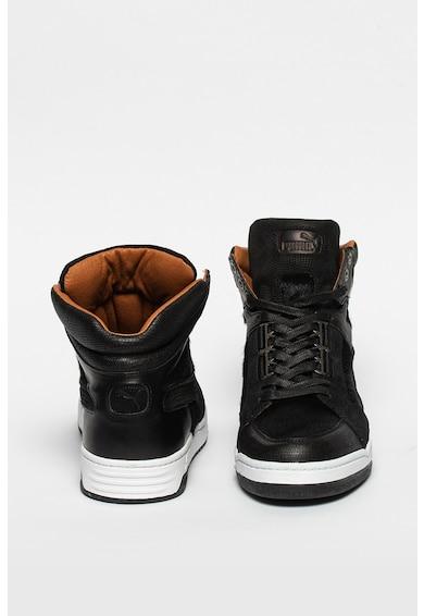 Puma Slipstream bőr sneaker műszőrme betétekkel férfi