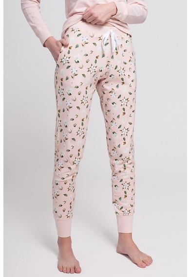 Sofiaman Organikuspamut-tartalmú virágmintás pizsama női