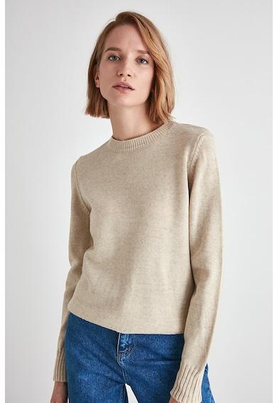 Trendyol Kerek nyakú pulóver kivágott részletekkel női