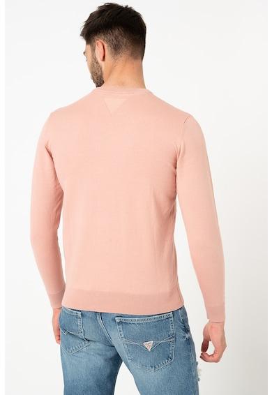 GUESS JEANS Bluza tricotata fin cu detaliu logo Barbati