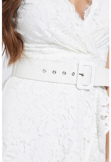 GUESS JEANS Rochie asimetrica din dantela cu o curea Femei
