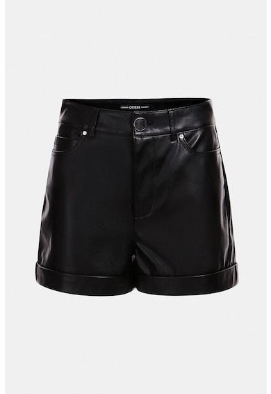 GUESS JEANS Pantaloni scurti cu mansete plisate Femei