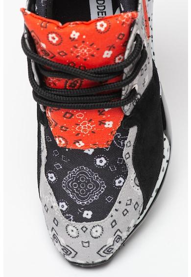 Steve Madden Pantofi sport cu insertie de piele intoarsa Cliff Femei