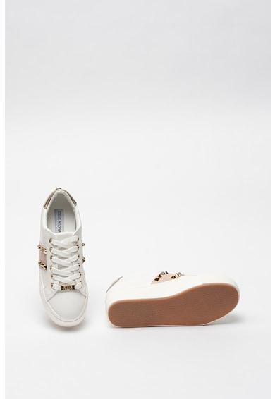 Steve Madden Pantofi sport flatform de piele ecologica cu aplicatii de tinte Escala Femei