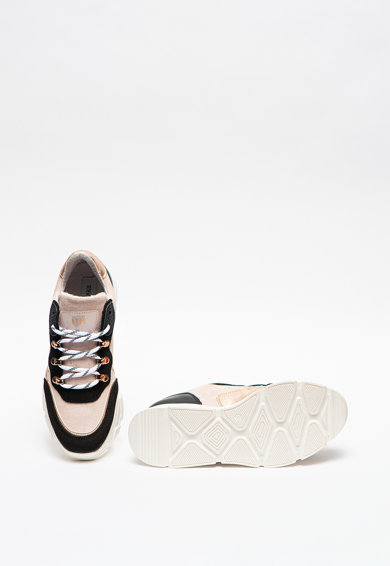 Steve Madden Кожени спортни обувки Picante с велур Жени