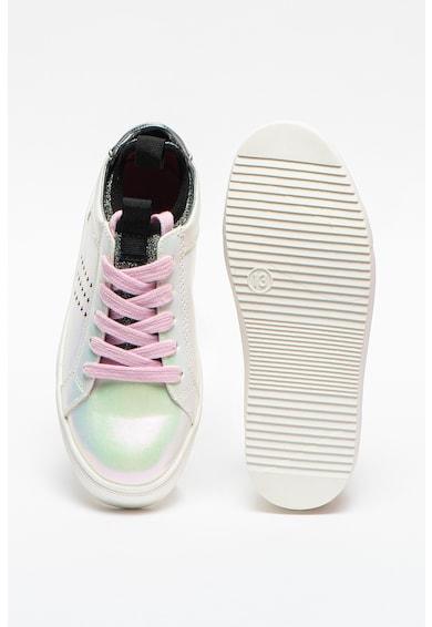Steve Madden Pantofi sport de piele ecologica cu irizatii Jkayden Fete