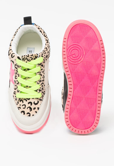 Steve Madden Pantofi sport cu animal print Jgoody Fete