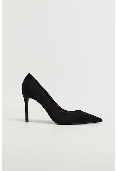 Mango Roca magas derekú nyersbőr cipő női