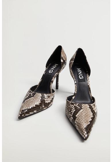 Mango Fiona magas sarkú műbőr cipő női