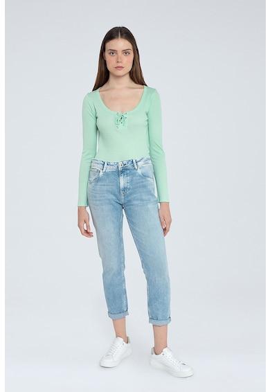 Pepe Jeans London Blugi cu aspect decolorat Femei