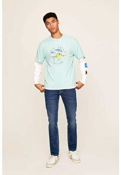Pepe Jeans London Blugi cu aspect decolorat Barbati
