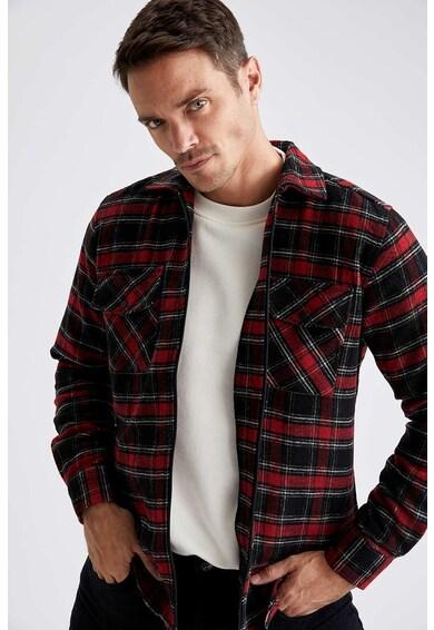 DeFacto Kockás ing fedőlapos zsebekkel férfi