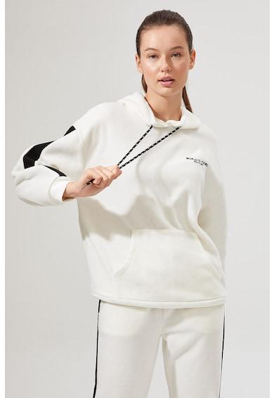 DeFacto Kapucnis pulóver kontrasztos anyagbetétekkel női