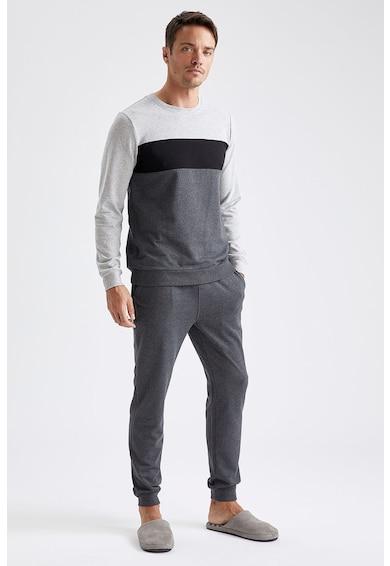 DeFacto Pijama cu semente contrastante Barbati