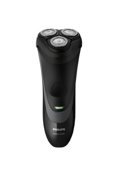 Philips Aparat de ras  S1520/04, CloseCut, Pop-up trimmer, LED, Li-Ion, Negru/Gri Barbati