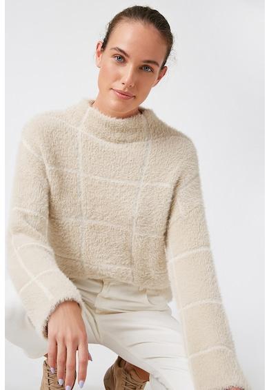 KOTON Pulover in carouri cu aspect pufos Femei