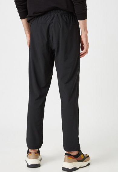 KOTON Pantaloni sport crop cu snur Barbati