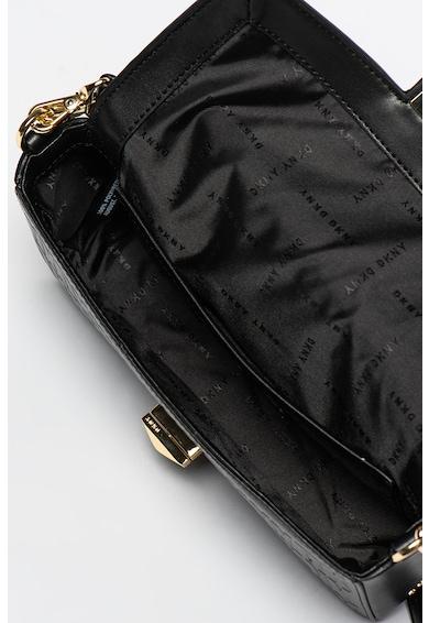 DKNY Geanta de piele ecologica cu model logo in relief Jojo Femei