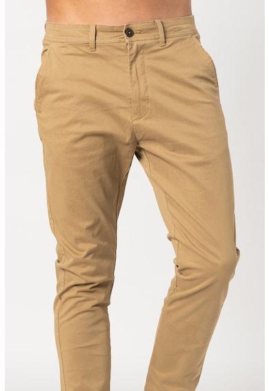 !Solid Pantaloni chino cu buzunare oblice Jim Barbati