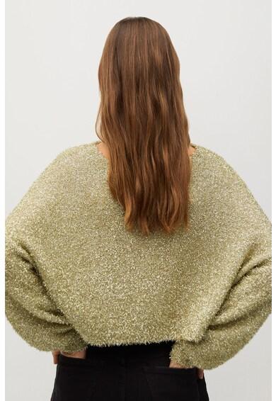 Mango Espumil texturált hatású pulóver női