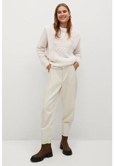 Mango Breis azsúros pulóver női