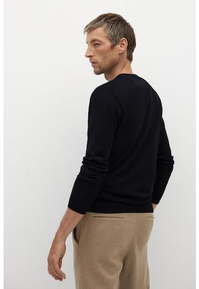 Mango Willy kerek nyakú merinógyapjú pulóver férfi