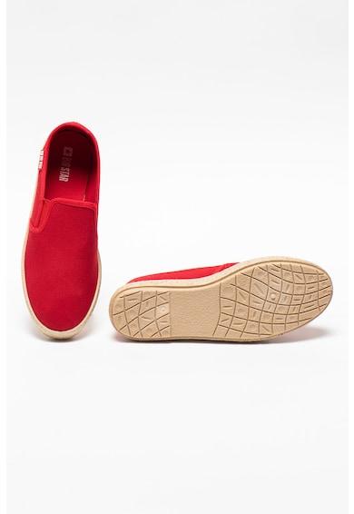 Big Star Pantofi slip-on din material textil Femei