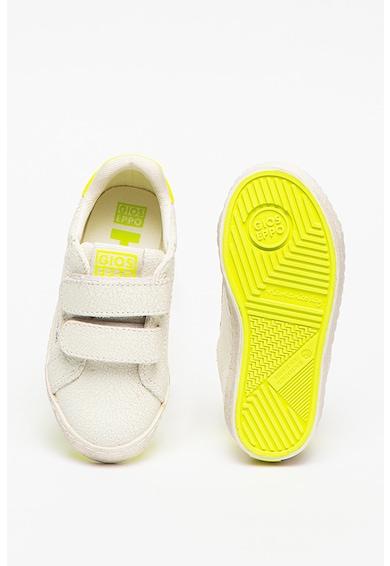 Gioseppo Pantofi sport de piele cu velcro Aarlen Baieti