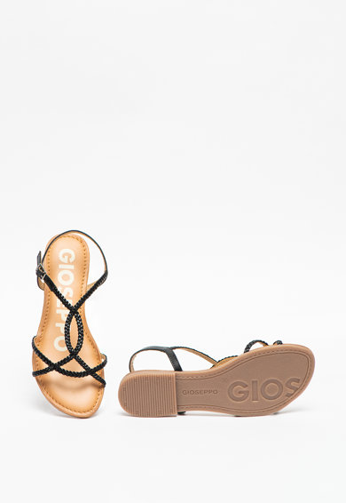 Gioseppo Кожени сандали Ossian с кръстосани каишки Жени