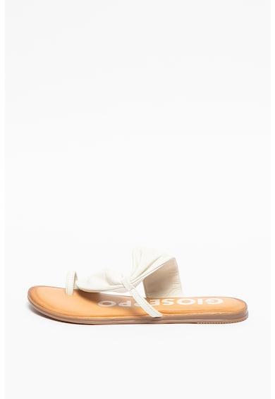 Gioseppo Кожени чехли Keene с разделителна каишка Жени