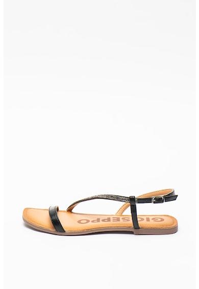 Gioseppo Sandale de piele cu strasuri Delavan Femei
