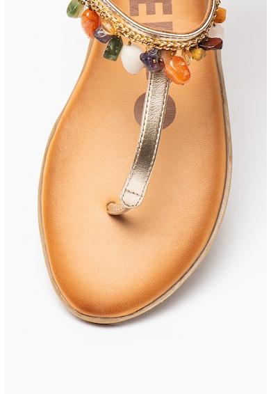 Gioseppo Sandale de piele cu bareta separatoare Harare Femei